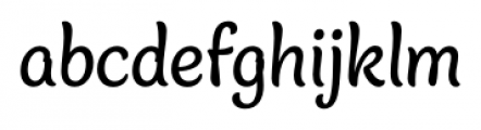 Blanket Regular Font LOWERCASE