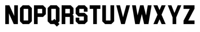 Blockletter Regular Font LOWERCASE