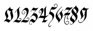 Blonde Fraktur Regular Font OTHER CHARS
