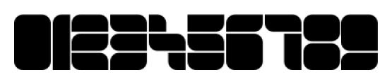 Blox Horizontal Font OTHER CHARS