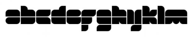 Blox Horizontal Font LOWERCASE