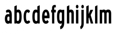Blue Highway Condensed Font LOWERCASE