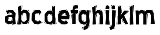 Blue Highway Linocut Font LOWERCASE