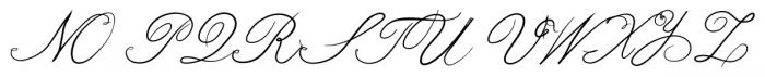 bluebird Bold Font UPPERCASE