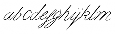 bluebird Bold Font LOWERCASE