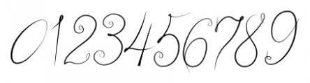 bluebird Regular Font OTHER CHARS