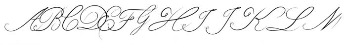 bluebird Regular Font UPPERCASE