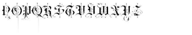 BLAQ Rough Font UPPERCASE
