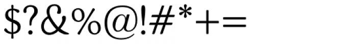 BLT Heirloom Light Font OTHER CHARS
