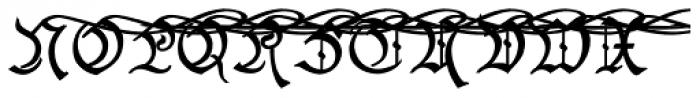 Black And Beauty Clean Alt Caps Font UPPERCASE