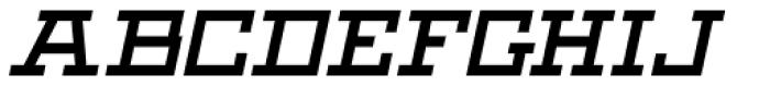Black Bear Bold Italic Font UPPERCASE