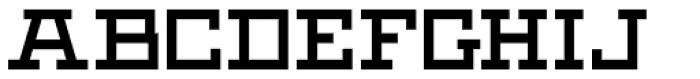 Black Bear Bold Font UPPERCASE