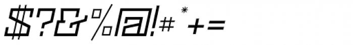 Black Bear Italic Font OTHER CHARS