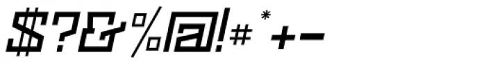 Black Bear Medium Italic Font OTHER CHARS