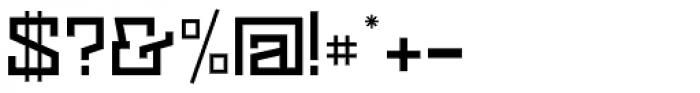 Black Bear Medium Font OTHER CHARS