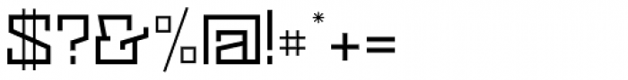 Black Bear Regular Font OTHER CHARS