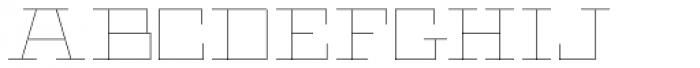 Black Bear Thin Font UPPERCASE