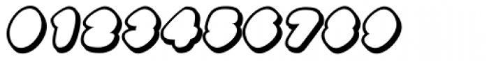 Black Damon Shadow Italic Font OTHER CHARS