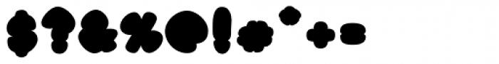 Black Damon Font OTHER CHARS