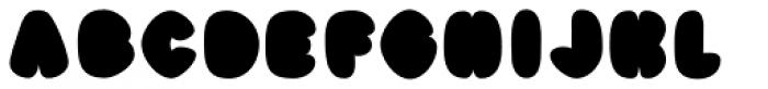 Black Damon Font UPPERCASE