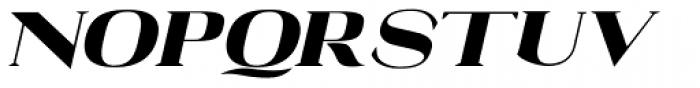 Black Feud Tilted Font UPPERCASE