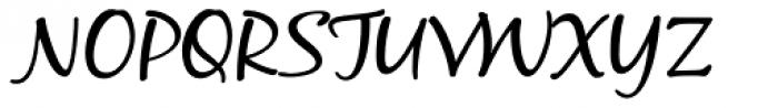 Black Jack Pro Font UPPERCASE