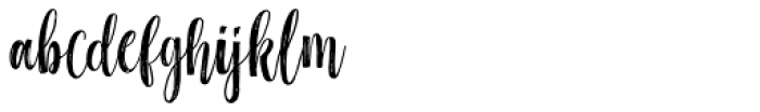 Black Line Regular Font LOWERCASE