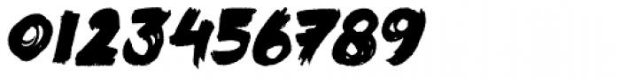 Black Mark Italic Font OTHER CHARS