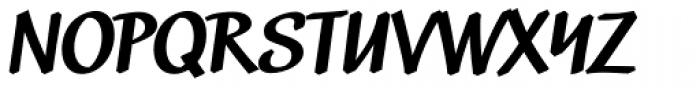 Black Market DTC Bold Font UPPERCASE