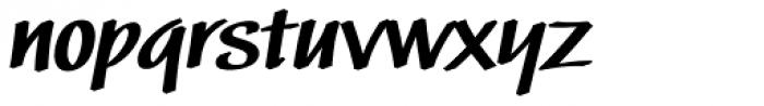 Black Market DTC Bold Font LOWERCASE
