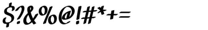 Black Market DTC Medium Font OTHER CHARS