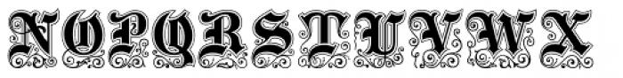 Black Pearl Font UPPERCASE