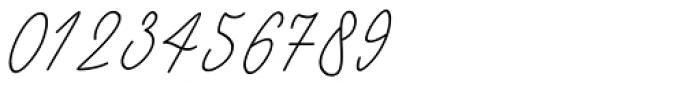 Black Pink Signature Italic Font OTHER CHARS