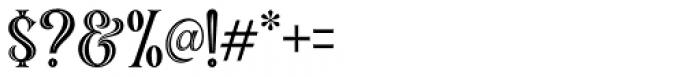 Black Quality Holed Font OTHER CHARS
