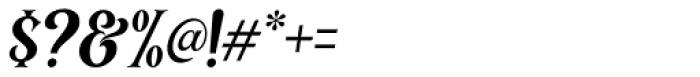 Black Quality Italic Font OTHER CHARS