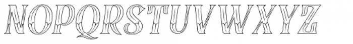 Black Quality Victo Italic Font UPPERCASE