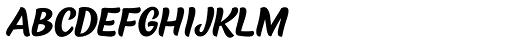 Black Script Caps Font LOWERCASE