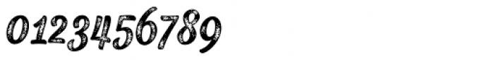 Black Script Printed Caps Font OTHER CHARS