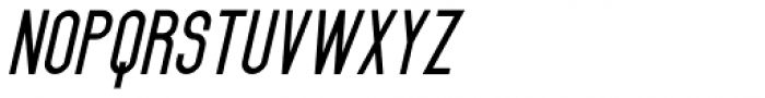 Black Spoon ExtraBold Oblique Font UPPERCASE