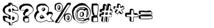 BlackDog Back Font OTHER CHARS
