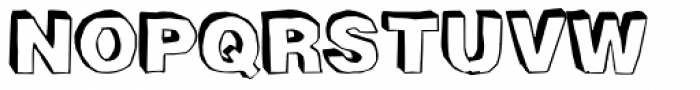 BlackDog Back Font UPPERCASE