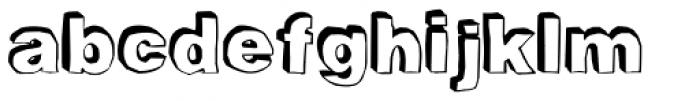 BlackDog Back Font LOWERCASE