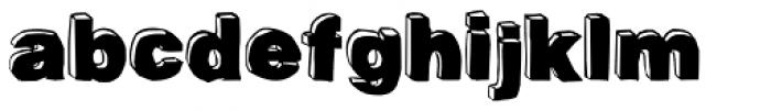 BlackDog Front Font LOWERCASE