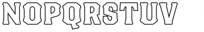 Blackberry Two Font UPPERCASE