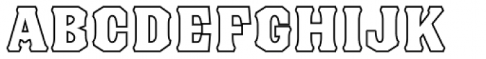 Blackberry Two Font LOWERCASE