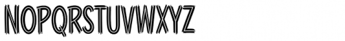 Blackcat Fever Font UPPERCASE