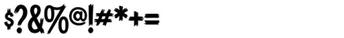 Blackcat Font OTHER CHARS