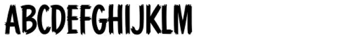 Blackcat Font LOWERCASE