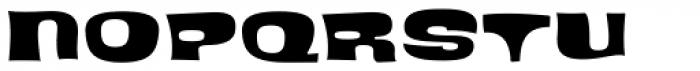 Blackcurrant Black Font UPPERCASE