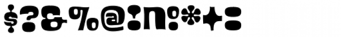 Blackcurrant Squash Font OTHER CHARS